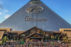 Bass Pro Shops Pyramid in Memphis